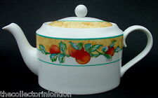Vintage 1990's Royal Grafton Tuscany Pattern Oval 2pt Teapot & Lid Looks in VGC