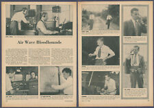 Fcc Federal Communications Radio Transmitter Vintage Pictorial Article 1946