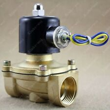 "12v DC 1"" Electric Solenoid Valve Diesel Gas Water Air"