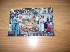 Vintage Adult Star Christy Canyon/Victoria Paris On Vacation Signed 4x6 Photo