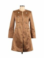 Plisse Women Brown Coat 8