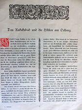 Breisgau Ehrenstetten Bollschweil Kukuksbad Baden Lithographie Poinsignon