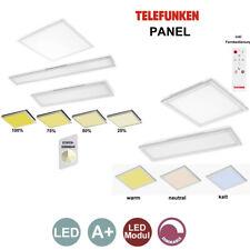 Telefunken Deckenlampen DIMMBAR Fernbedienung LED Panel warm-kalt Einbau Aufbau