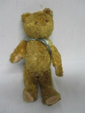 Early Antique Golden Jointed Teddy Bear ~ 14""