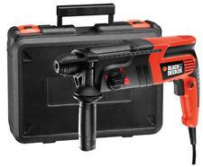 BLACK+DECKER KD860KA Corded Pneumatic Hammer Drill with Kitbox - 600W