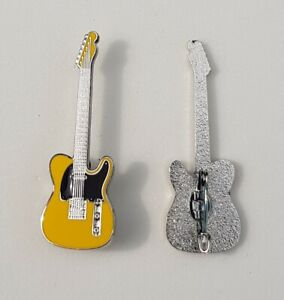 Guitar Enamel Pin Badges Zeppelin Sabbath AC/DC Foo Fighters Kiss The Who