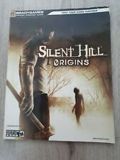 Playstation PS 2 Psp Silent Hill Origins Bradygames Brady games Strategy Guide