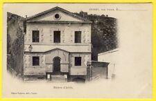 cpa RARE Auvergne Dos 1900 CUSSET (Allier) La MAISON d'ARRÊT Pénitentier Prison