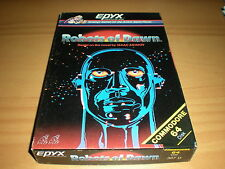 ROBOTS OF DAWN COMMODORE 64 C64 GAME 100% COMPLETE ADVENTURE EPYX 1984