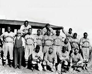Kansas City Monarchs - Negro League (1930's exact year unknown) 8x10 B&WPhoto