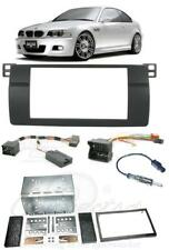 Fits BMW 3 SERIES E46 Double Din Car Stereo Fitting Kit Facia Stalk Aerial