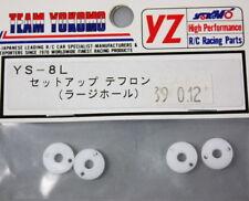 YOKOMO Pistons téflon (grands trous) 4 pcs YS-8L 39012