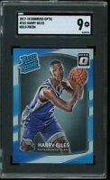 2017 Donruss Optic HOLO PRIZM #181 Harry Giles RC Graded SGC 9 MINT ~ COMP PSA 9