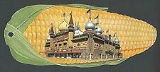 Ca 1960 PPC* MITCHELL SD CORN PALACE DIE CUT UNPOSTED HAS WEAR & BEND