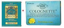 4711 EAU DE COLOGNE tessuti tessuti (10) + 4711 rinfrescante al limone tessuti (20)