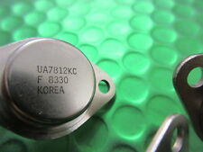 UA7812KC 12V regulador de voltaje, positivo Fairchild TO-3. Metal. ** 2 por Venta **