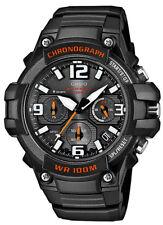 Casio Chronograph Herren Armbanduhr MCW-100H-1AVEF schwarz