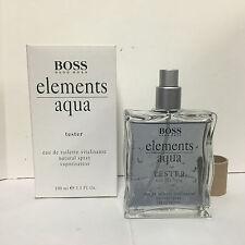 Hugo Boss Elements Aqua Köln 3.4 OZ Men EDT Spray