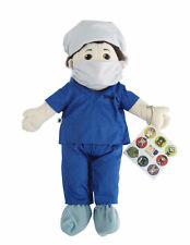Flat Friends Scrub nurse boy hand puppet