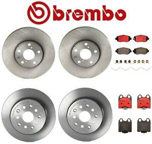 For Lexus GS300 IS300 SC430 Front Rear Brake Kit Disc Rotors Ceramic Pads Brembo