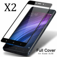 2x For Xiaomi Mi A1/Mi 5X  9H 3D Full Cover Tempered Glass Film Screen Protector