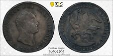 1822 MoJM MEXICO Empire Of Iturbide 8 Reales Silver Coin PCGS VF-Detail (Damage)
