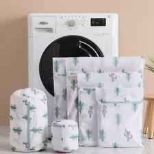 Foldable Laundry Mesh Net Washing Bag Clothes Bra Socks Mesh Wash Bag Zipper