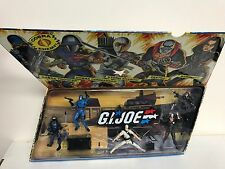 GI JOE Cobra Action Figure Set 25th anniversary 1982-2007 Destro Baroness Storm