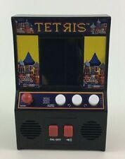 Miniature Arcade Machine Tetris Handheld Puzzle Video Game with Batteries