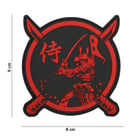 3D PVC morale patch Samurai Warrior airsoft softair