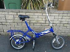 EZgo Izip fold up bike London bike not electric manual used working bicycle