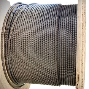 Wire Rope Stainless Steel A4 Marine Grade 7x7 7x19 3060 3055 Soft Cable & Flexi