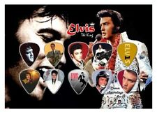 ELVIS  - A5 SIZE LIMITED EDITION - GUITAR PICK DISPLAY
