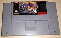 Stunt Race FX Racing Super Nintendo SNES Vintage retro original game cartridge