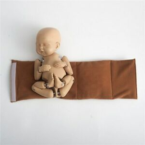Newborn Baby Photography Props Wrap Assistant Belts Solid Color Props for Studio