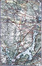 Spandau Falkensee Wannsee Gatow Kladow 1930 Teilkarte/Ln Dallgow Staaken Potsdam