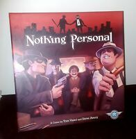 Nothing Personal Board Game by Dice Tower Games Complete