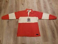 SAMPDORIA orange shirt long sleeve jersey ASICS FOOTBALL SHIRT Maglia