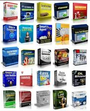 100 Master Resell Rights Software Make Money Online Home Based Business...