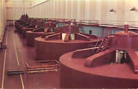 Chrome WA Postcard C719 Interior West Powerhouse Grand Coulee Dam J Boyd Ellis