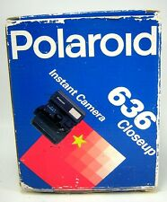 Polaroid Film Camera 636 Close Up Vintage Looks New in Box