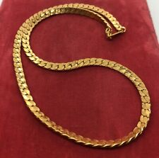 Vintage Necklace Signed Amway Gold Tone Chain