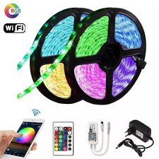15m RGB LED Strip With Remote And Bluetooth Set Brand New