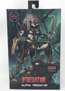NECA Ultimate Alpha Predator 100th Edition Action Figure With DLC Brand New