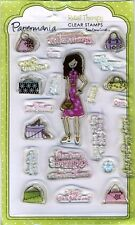 Papermania - Clear Stamps - Retail Therapy / Shop 'til You Drop - PMA9073007