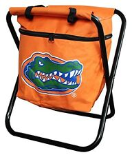 Florida Gators NCAA Deluxe Folding Tailgate Chair/Attached Insulated Cooler NEW