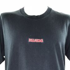 Billabong Mens T Shirt Embroidered Spellout Skate Surf Vintage 90s XL