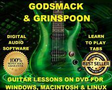 Godsmack Guitar TAB Lesson CD 420 TABS 16 Backing Tracks + MEGA BONUS Grinspoon