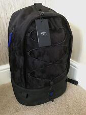 ARMANI Jeans Polyamide Backpack Rucksack Black Men's