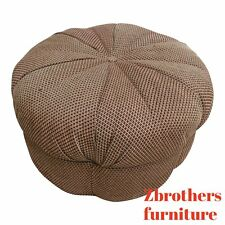 New ListingPearson Round Tuft Ottoman Puff Foot Stool